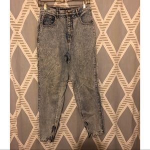 Vintage Acid Wash Dakota Blues Jeans